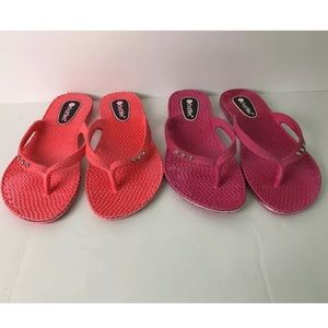 3a325b2d735c chatties Shoes - Chatties Lot of 2 Pairs of Flip Flops Sz XL (11)